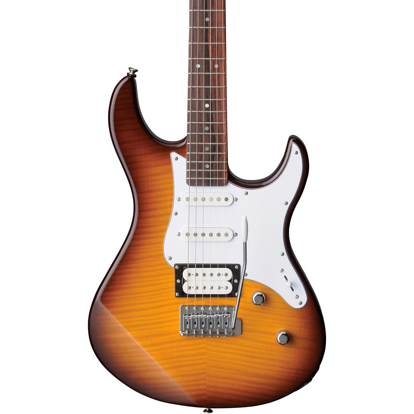Yamaha PAC212VFM Flame Maple Top Electric Guitar thumbnail