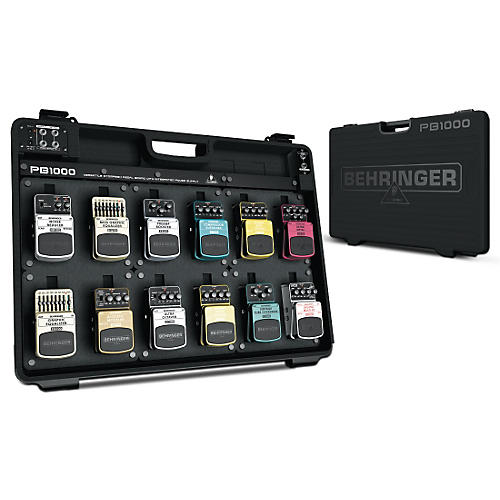 Behringer PB1000 Powered Pedal Board thumbnail