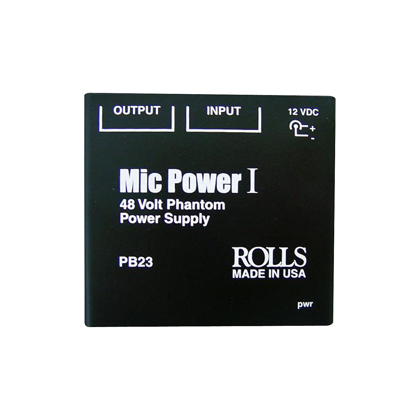 Rolls PB23 Phantom Power Adapter thumbnail