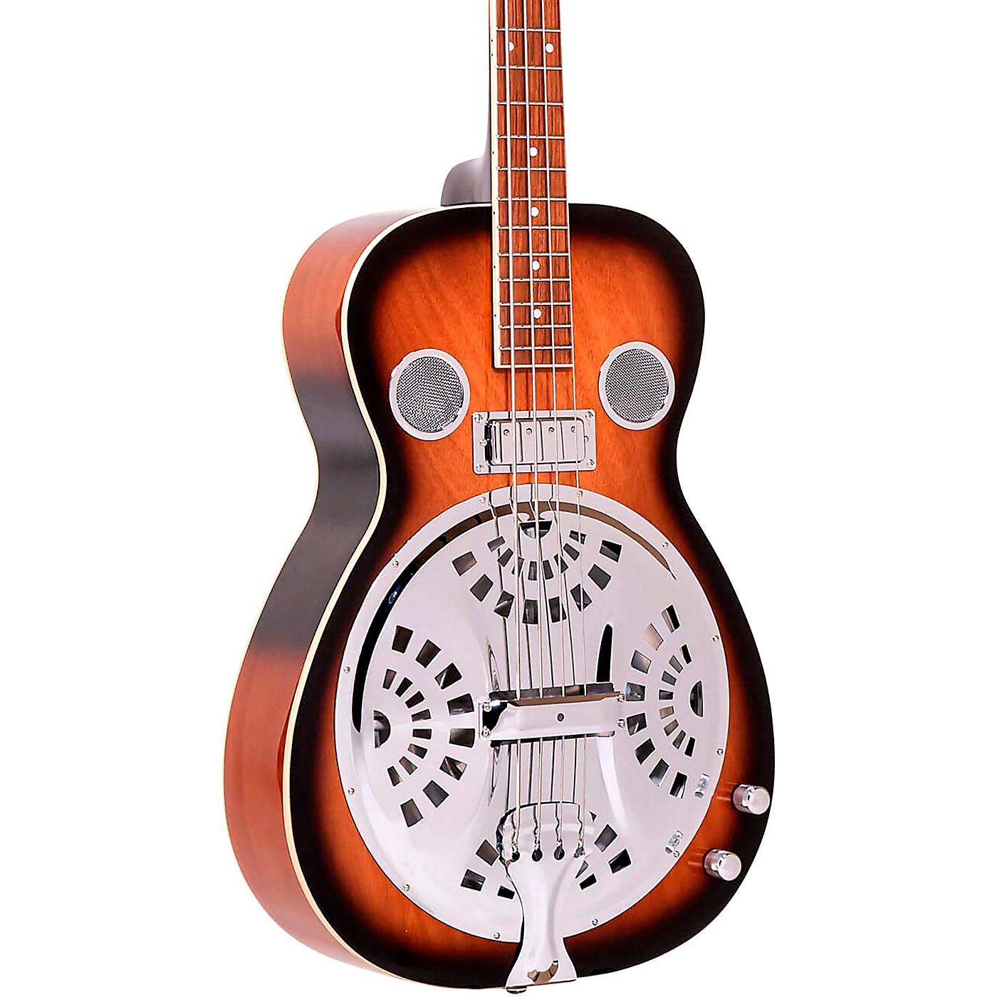Gold Tone PBB Paul Beard Resophonic Bass Guitar thumbnail