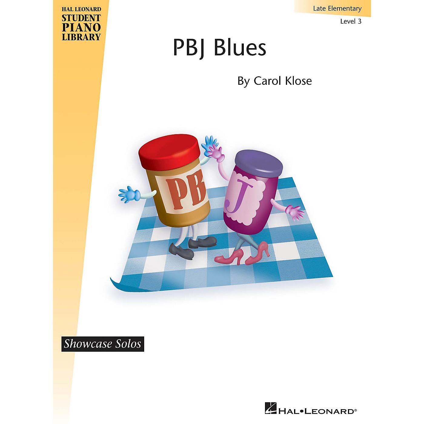 Hal Leonard PBJ Blues Piano Library Series by Carol Klose (Level Late Elem) thumbnail