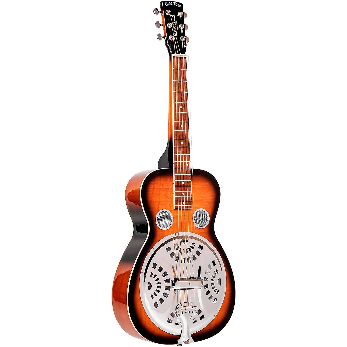 Gold Tone PBS Paul Beard Squareneck Guitar with Case thumbnail