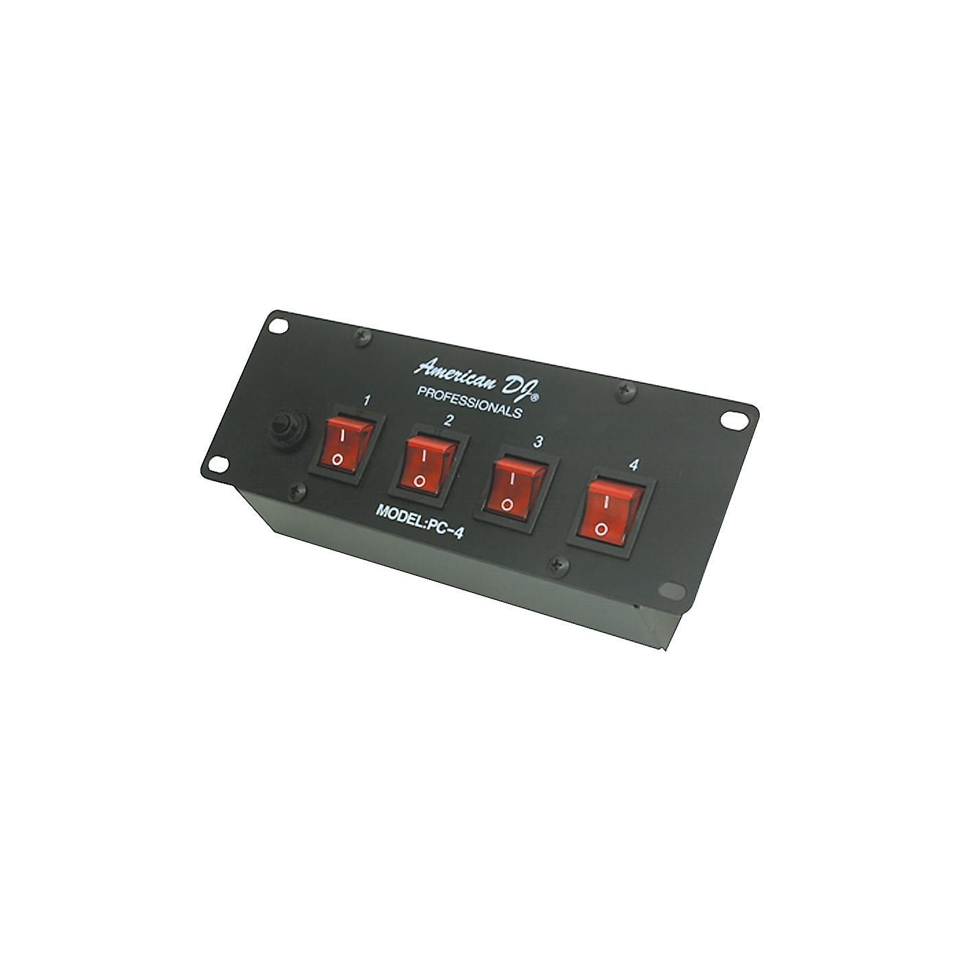 American DJ PC-4 4 Channel Switch Center thumbnail