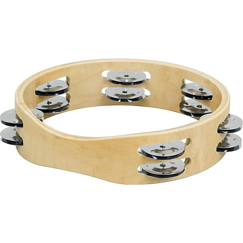 Sound Percussion Labs PDM1812M-R Maple Tambourine-thumbnail