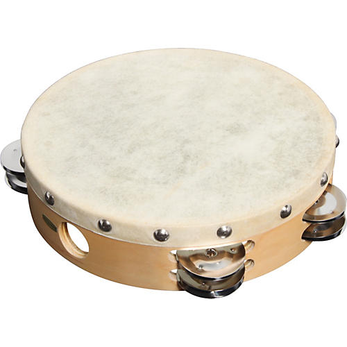 Sound Percussion Labs PDM2016M-R Tambourine with Calfskin Head thumbnail