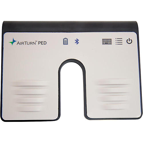 AirTurn PED Hands-Free Dual Footswitch Controller for Bluetooth Smart Equipped Tablets & Computers thumbnail