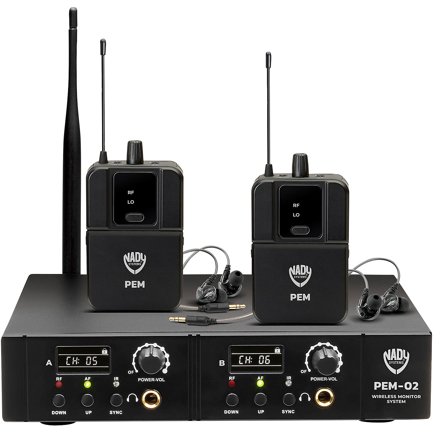 Nady PEM-02 Wireless In-Ear Monitor System thumbnail