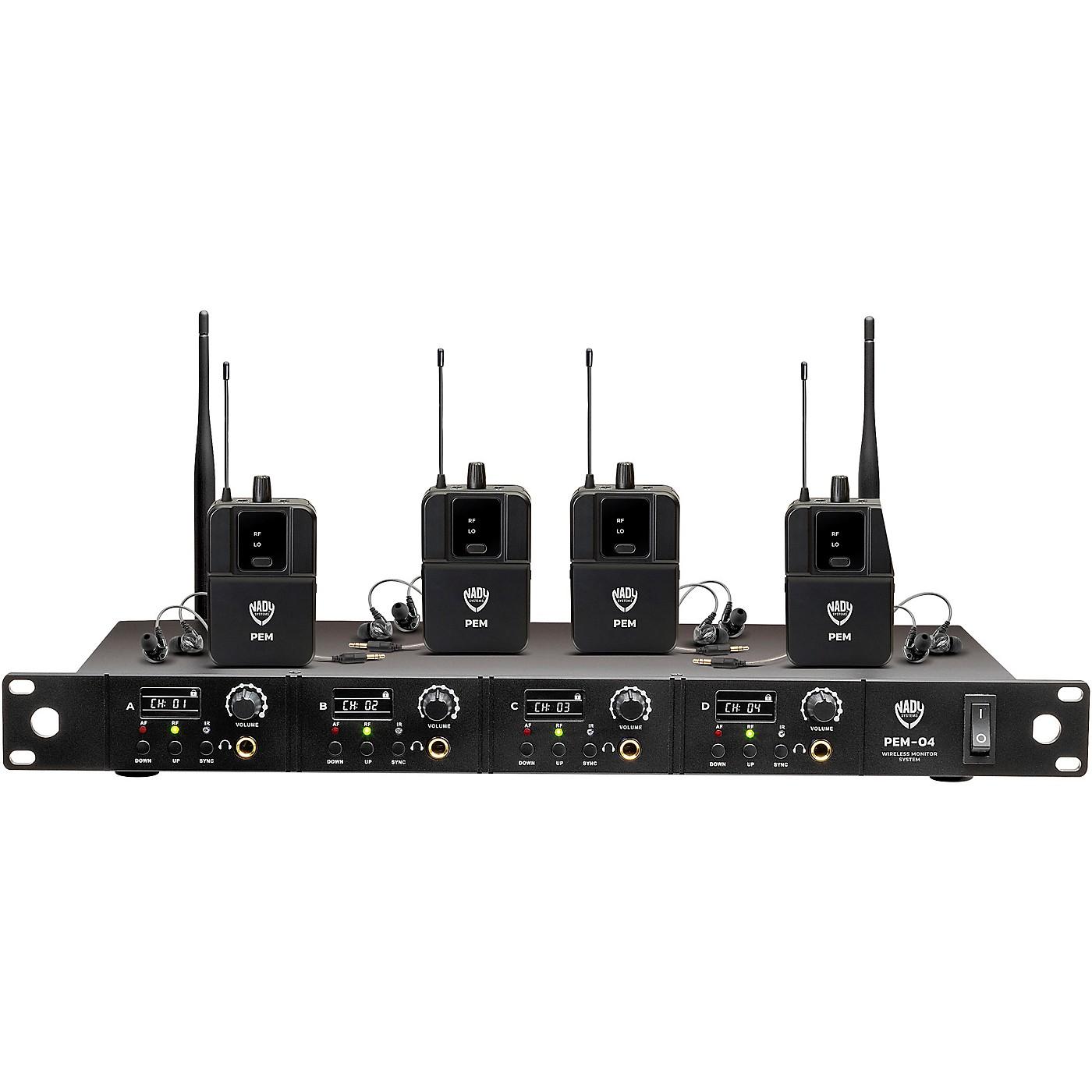 Nady PEM-04 Wireless In-Ear Monitor System thumbnail