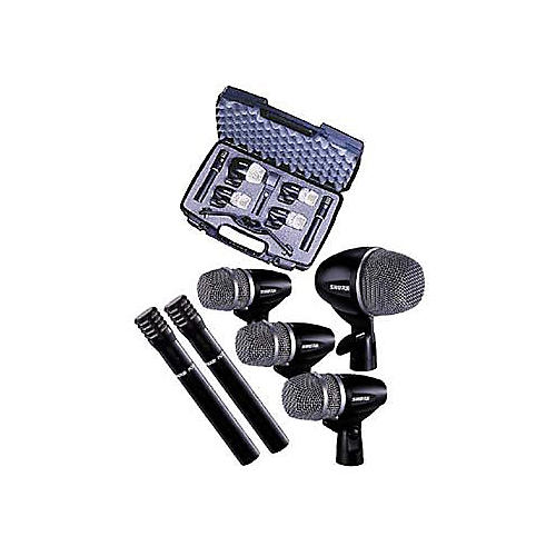 Shure PG 6-Piece Drum Microphone Package-thumbnail