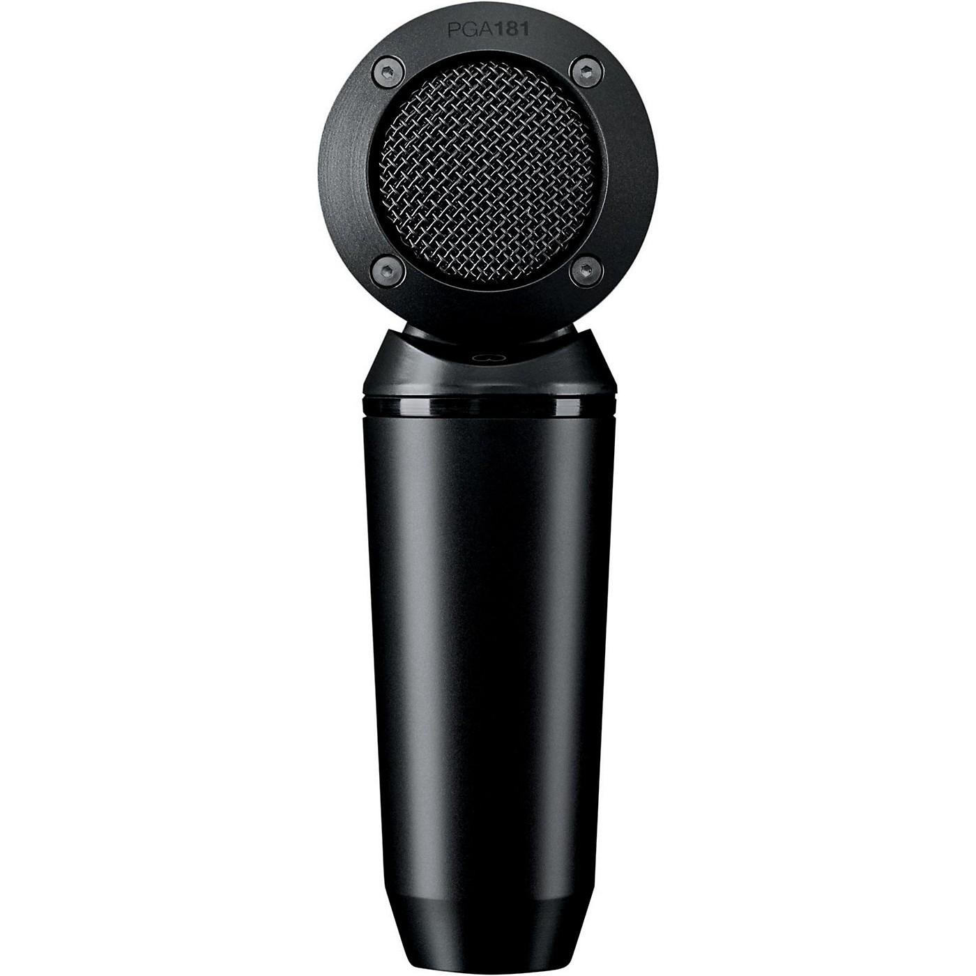 Shure PGA181-XLR Condenser Microphone with XLR Cable thumbnail