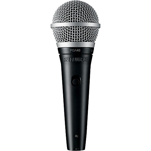 Shure PGA48 Cardioid Dynamic Vocal Microphone thumbnail