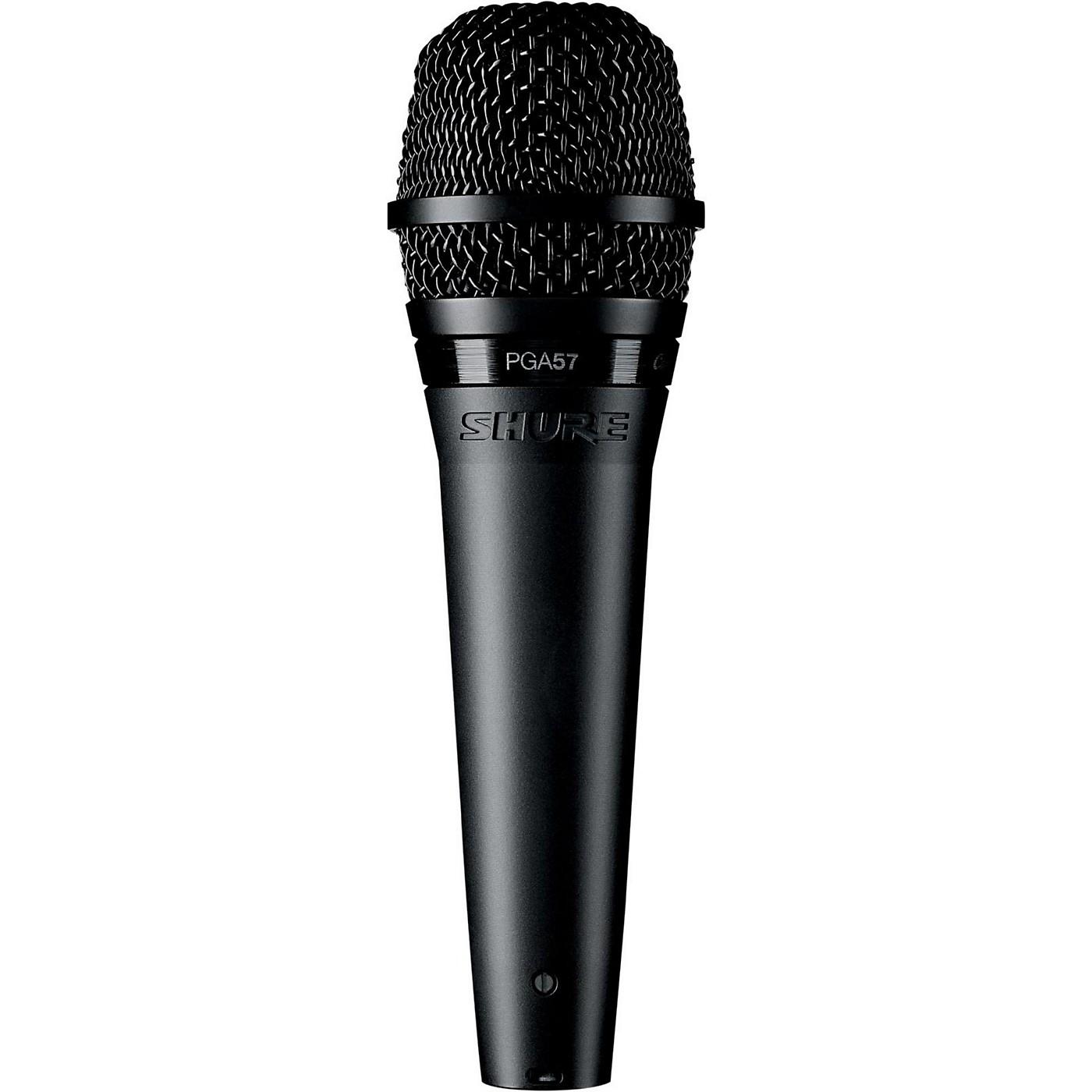 Shure PGA57-XLR Dynamic Instrument Microphone with XLR Cable thumbnail