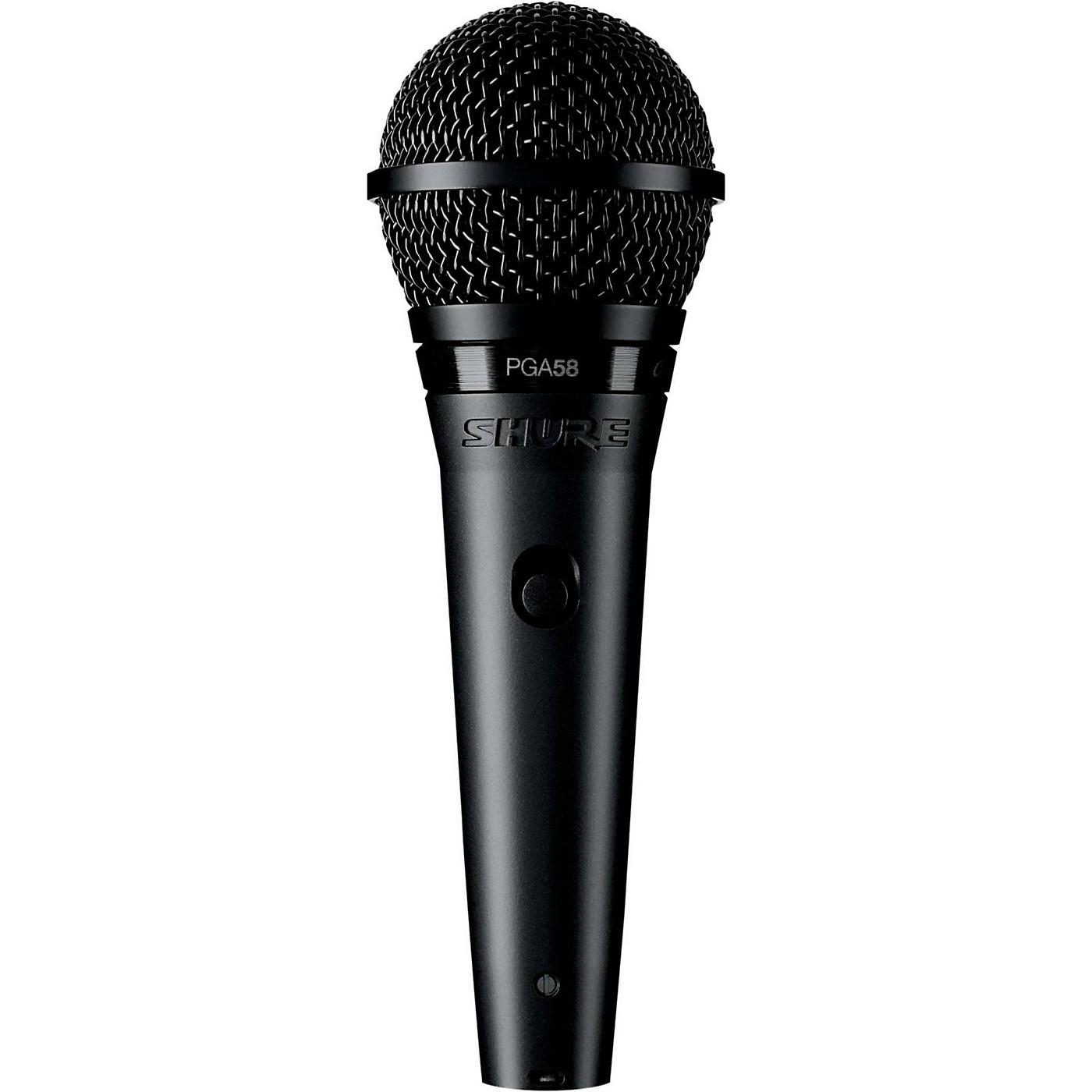Shure PGA58 Cardioid Dynamic Vocal Microphone thumbnail