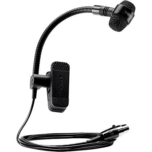 Shure PGA98H-TQG Cardioid Condenser Gooseneck Instrument Microphone with TA4F Wireless System Connector thumbnail