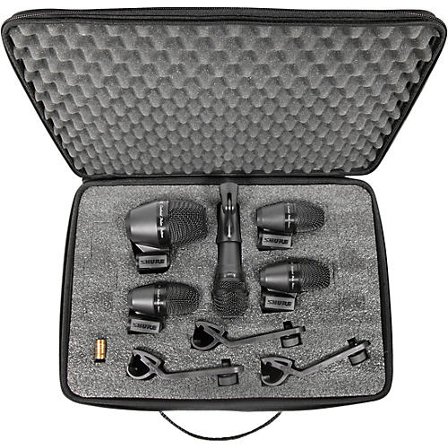 Shure PGADRUMKIT5 5-Piece Drum Microphone Kit thumbnail