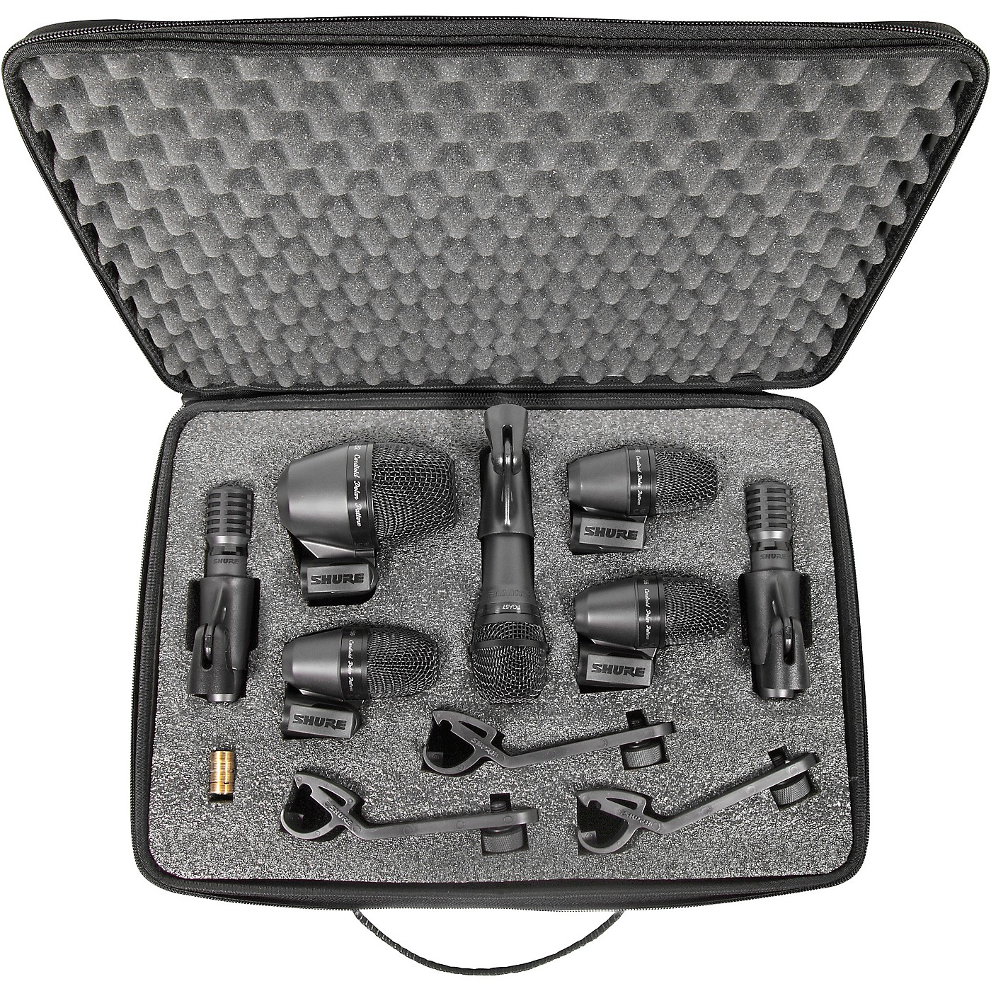 Shure PGADRUMKIT7 7-Piece Drum Microphone Kit thumbnail