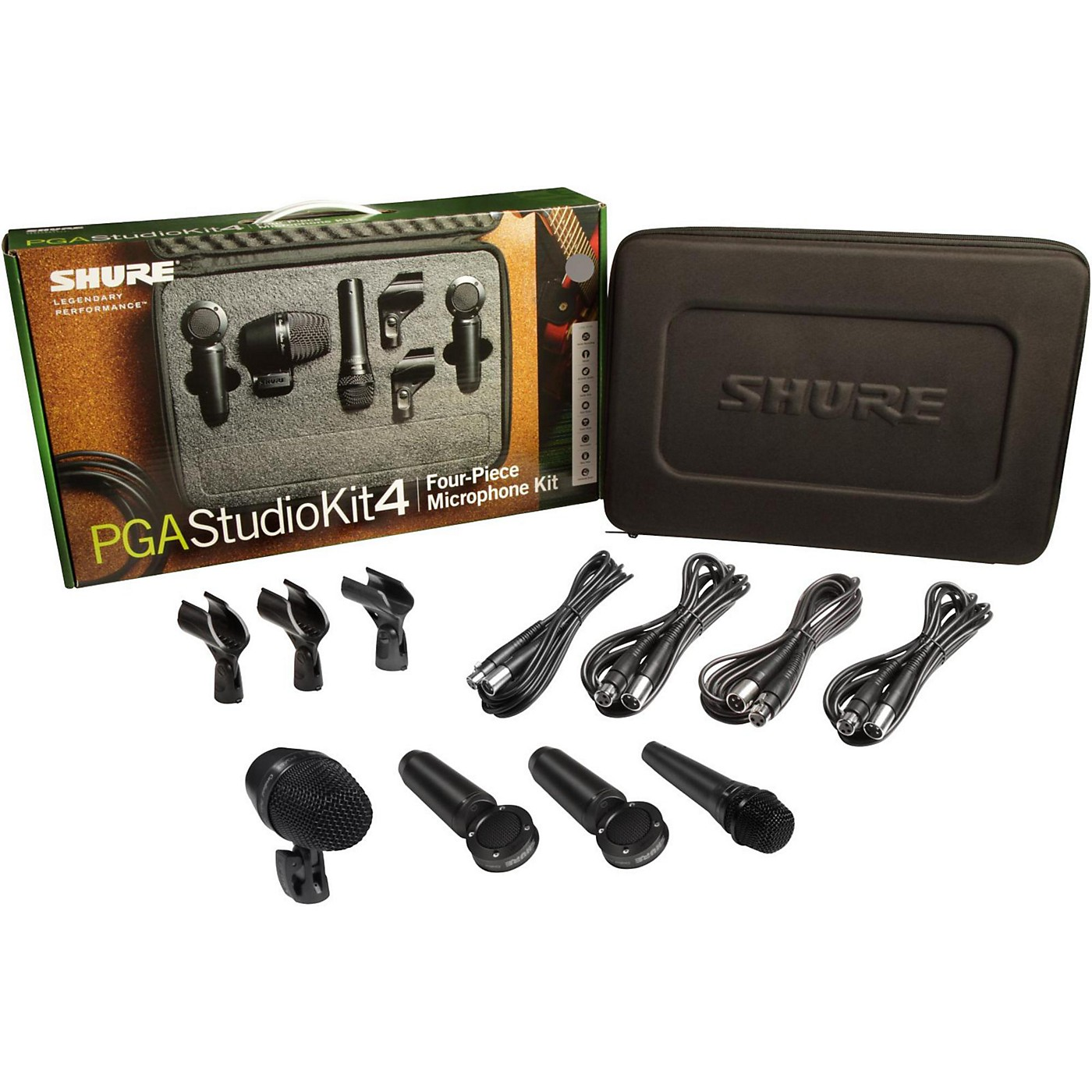 Shure PGASTUDIOKIT4 4-Piece Studio Microphone Kit thumbnail