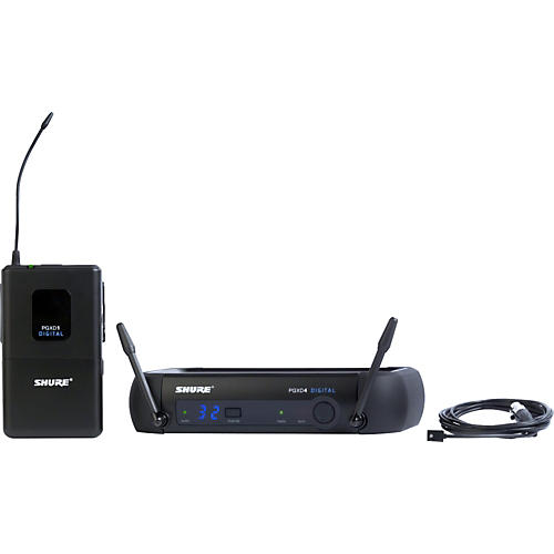Shure PGXD14/93 Digital Wireless System with WL93 Lavalier Mic thumbnail