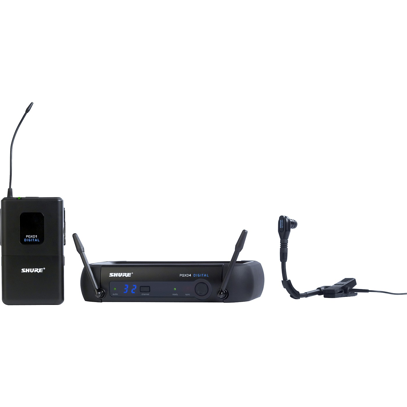 Shure PGXD14/BETA98H Digital Wireless System with Beta 98H/C Mic thumbnail
