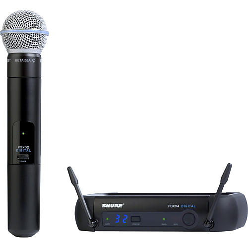 Shure PGXD24/Beta58A Digital Wireless System with Beta 58A Mic thumbnail