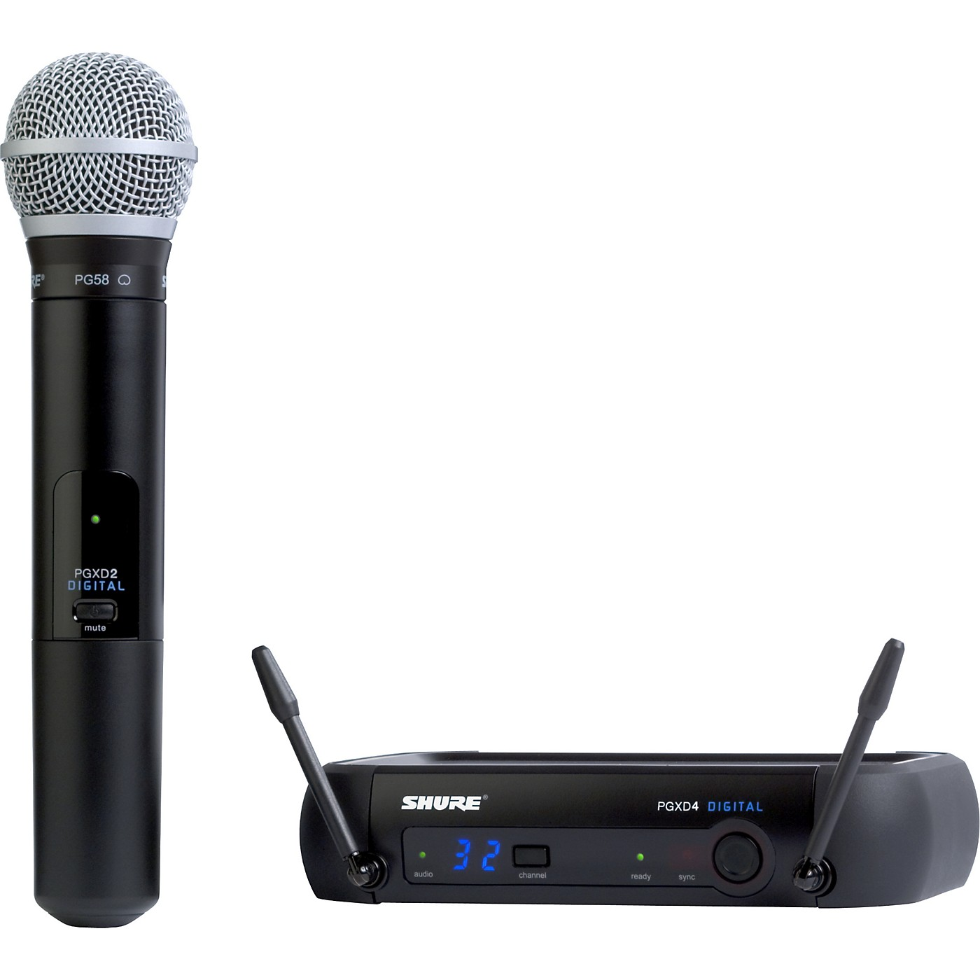 Shure PGXD24/PG58 Digital Wireless System with PG58 Mic thumbnail