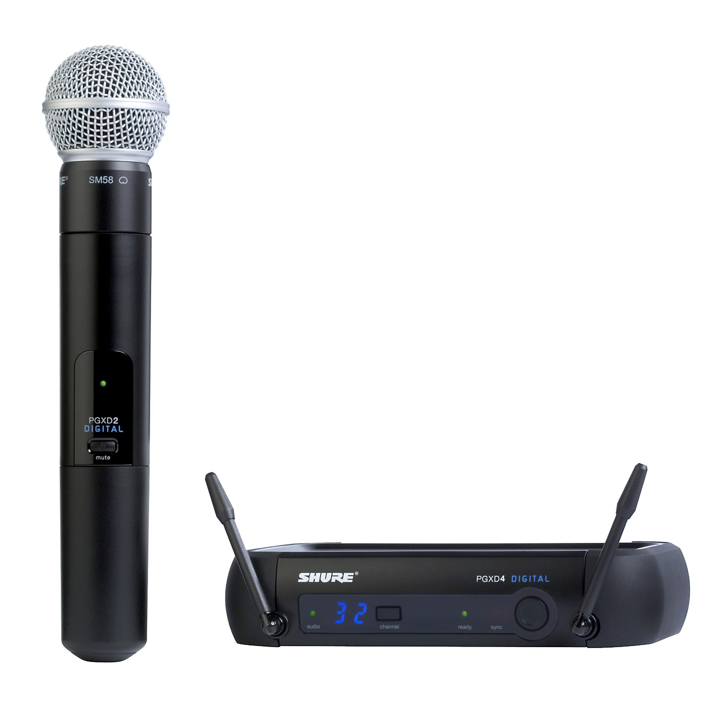 Shure PGXD24/SM58 Digital Wireless System with SM58 Mic thumbnail