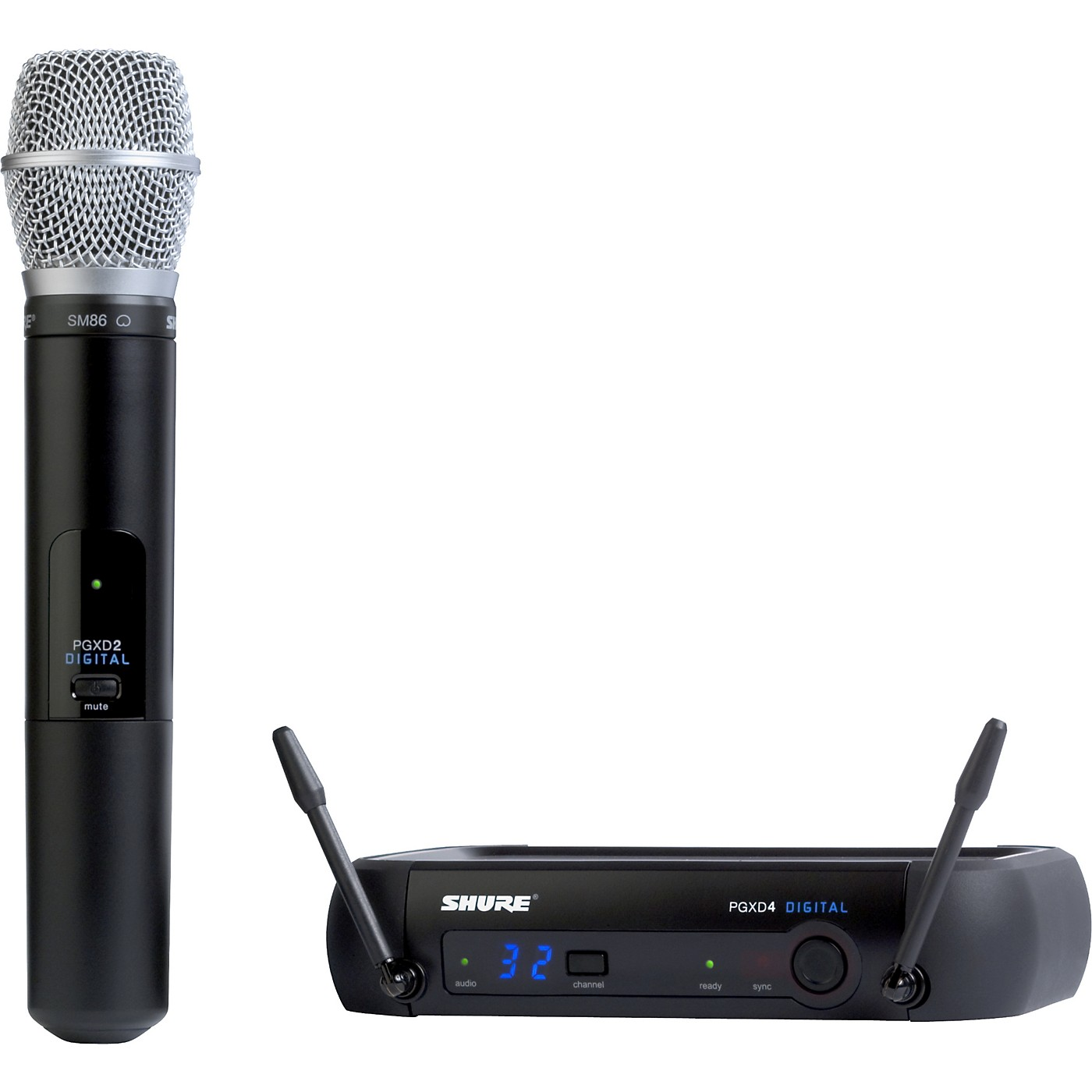 Shure PGXD24/SM86 Digital Wireless System with SM86 Mic thumbnail