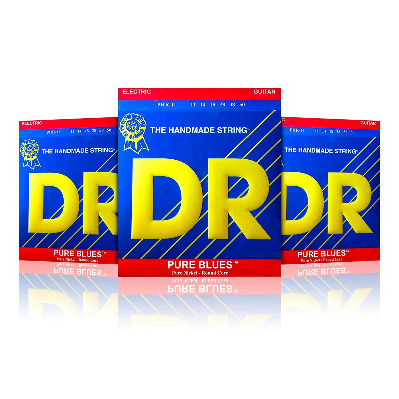 DR Strings PHR-11 Pure Blues Heavy Electric Strings - Buy 2, Get 1 Free thumbnail