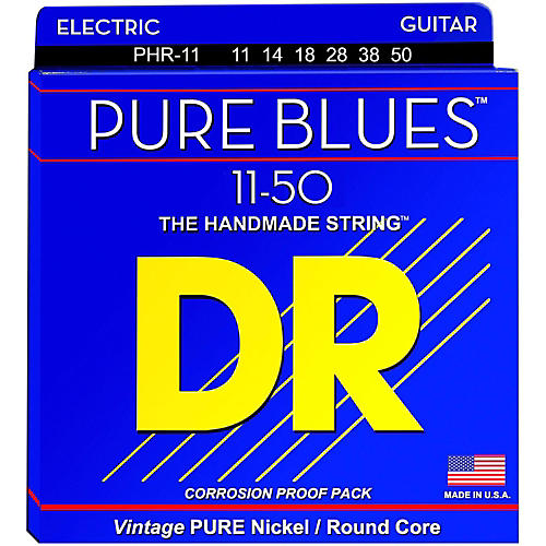 DR Strings PHR11 Pure Blues Nickel Heavy Electric Guitar Strings thumbnail