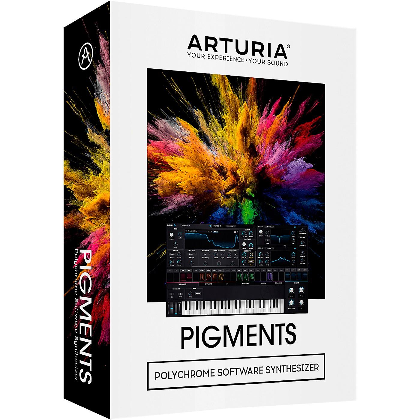 Arturia PIGMENTS (Boxed Software) thumbnail