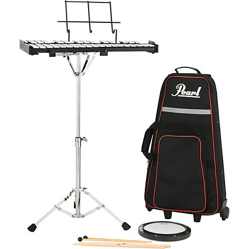 Pearl PK910C Educational Bell Kit with Rolling Cart-thumbnail