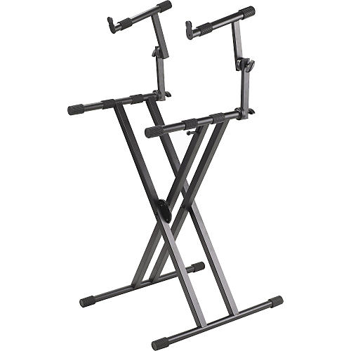 Proline Pl402 2 Tier Double X Braced Keyboard Stand