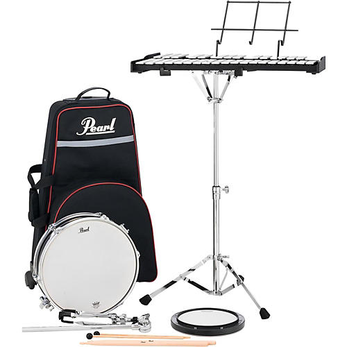 Pearl PL910C Educational Snare and Bell Kit with Rolling Cart thumbnail