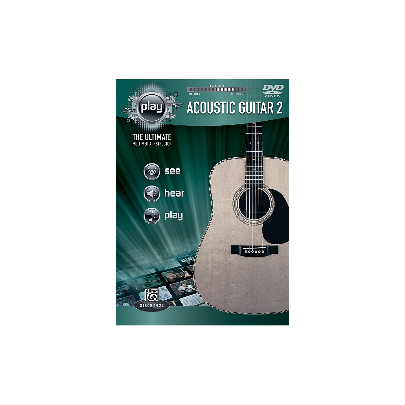 Alfred PLAY Series  Acoustic Guitar 2 DVD thumbnail
