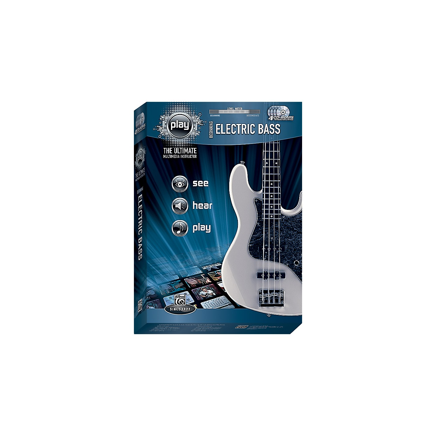 Alfred PLAY Series  Beginning Electric Bass CD-ROM thumbnail