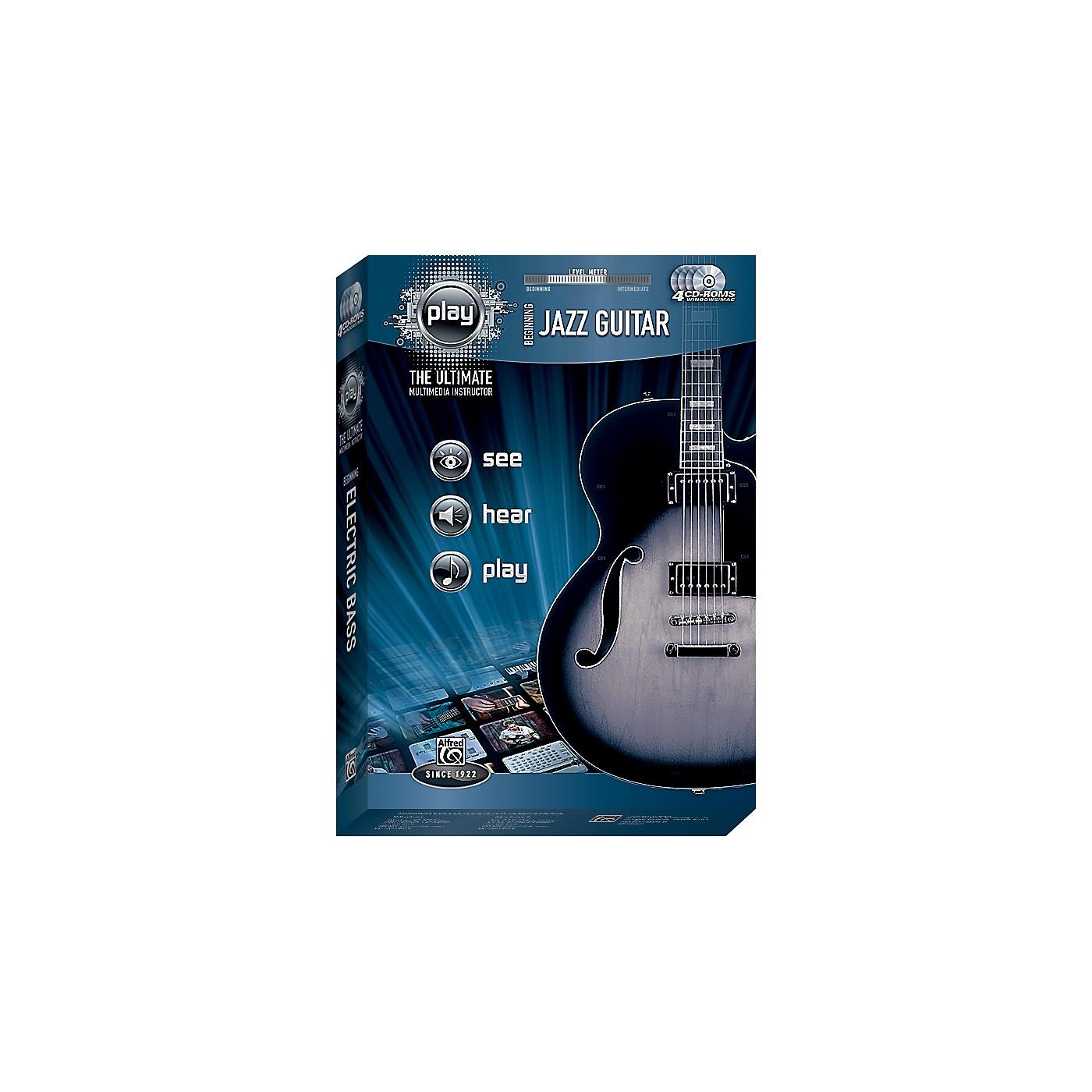 Alfred PLAY Series  Beginning Jazz Guitar CD-ROM thumbnail