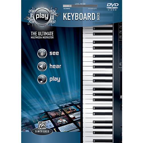 Alfred PLAY Series  Keyboard Basics DVD thumbnail