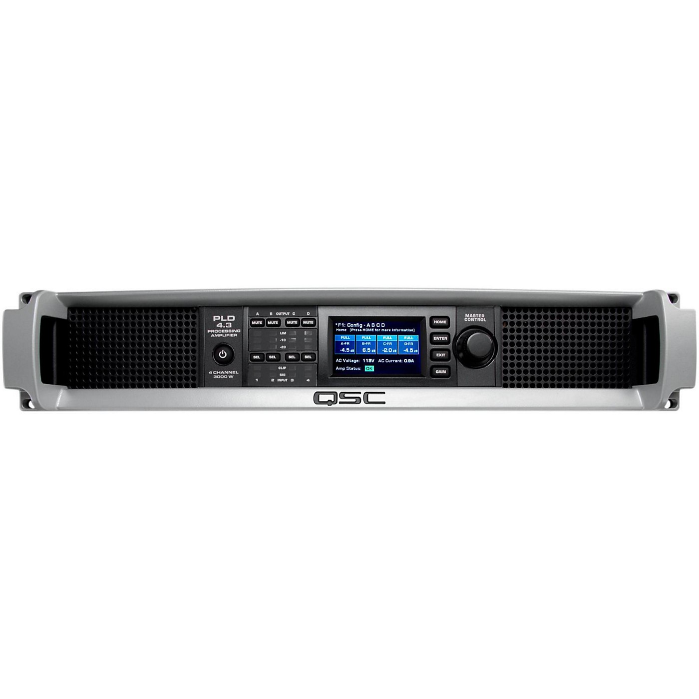 QSC PLD4.3 Multi-Channel System Processing Amplifier thumbnail
