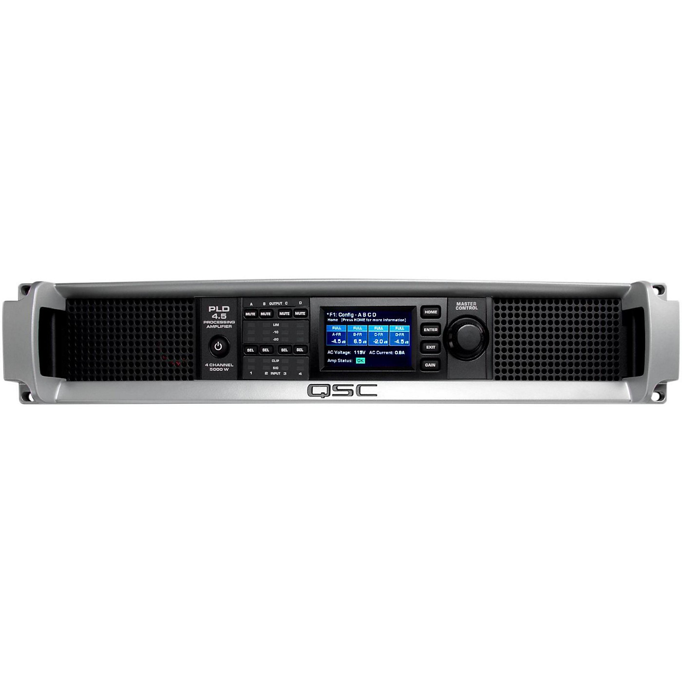 QSC PLD4.5 Multi-Channel System Processing Amplifier thumbnail
