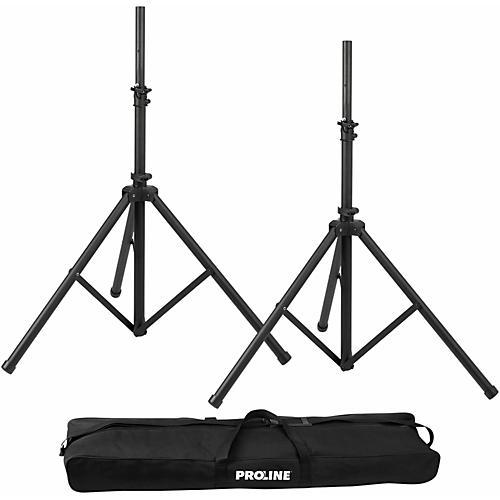 Proline PLSPK2 Speaker Stand Set w/ Bag thumbnail