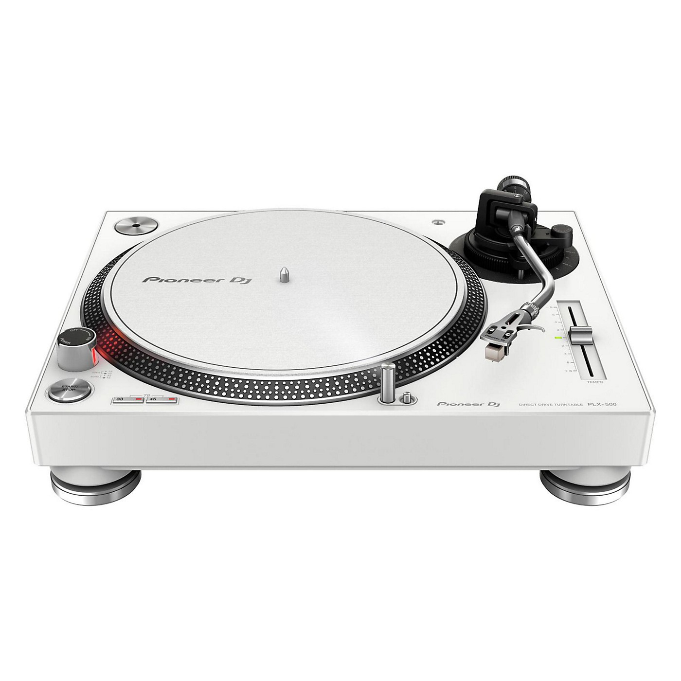 Pioneer PLX-500 Direct-Drive Professional Turntable White thumbnail