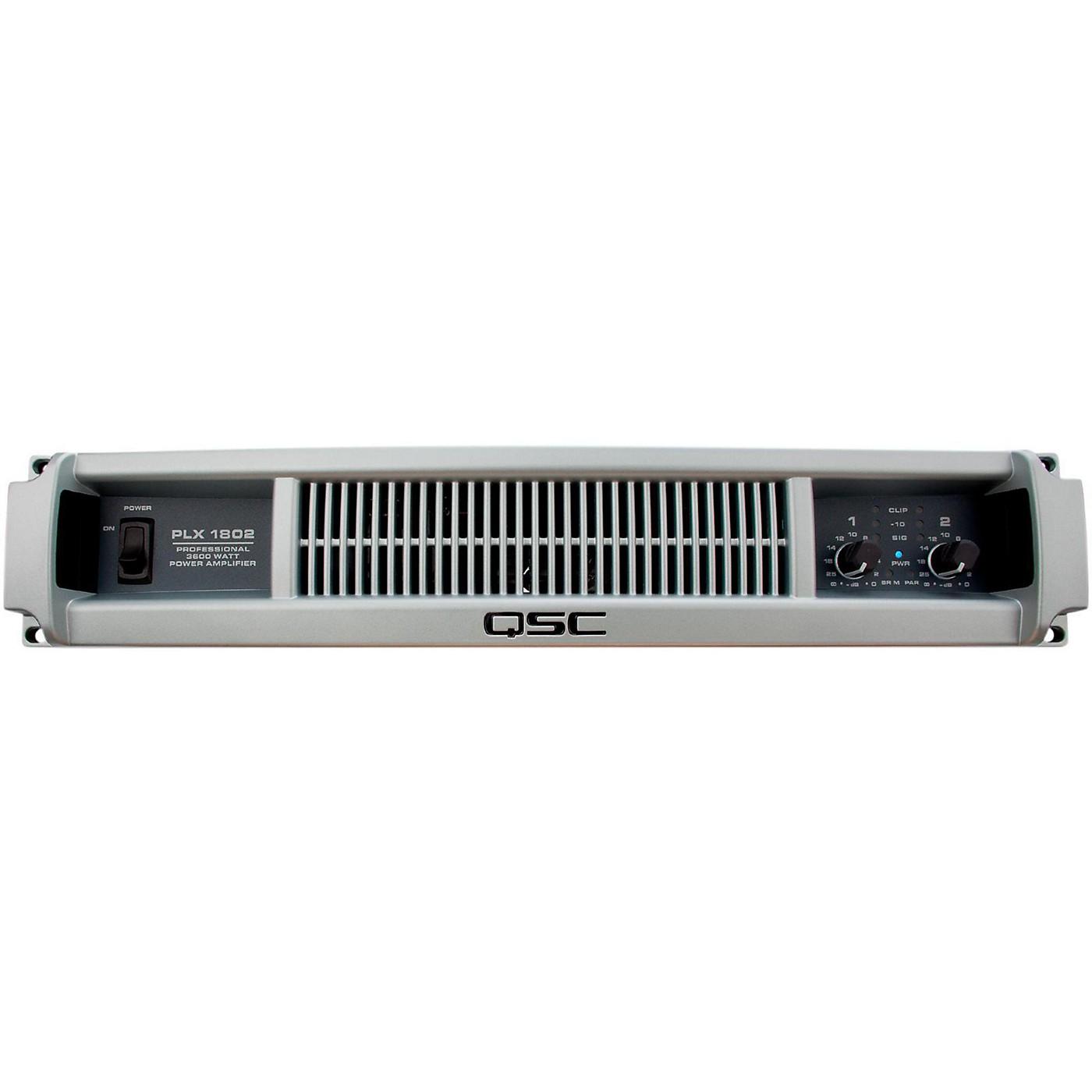 QSC PLX1802 Professional Power Amplifier thumbnail