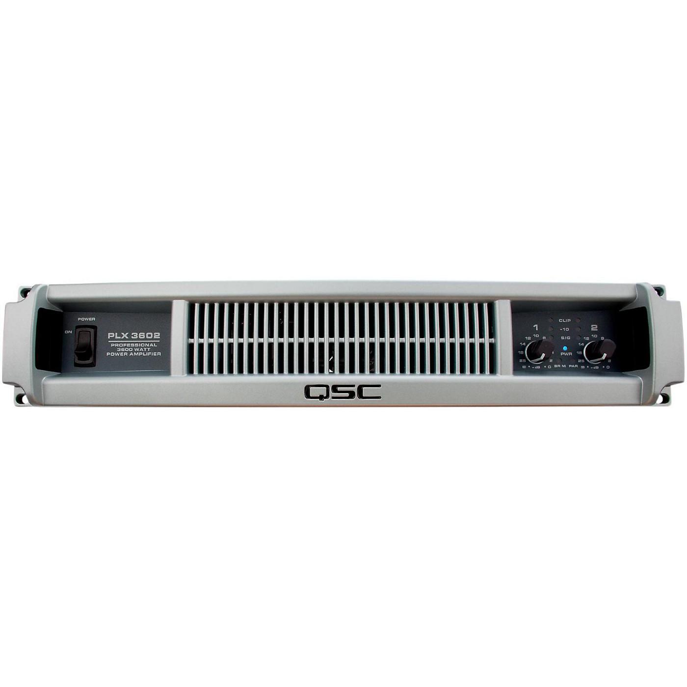 QSC PLX3602 Professional Power Amplifier thumbnail