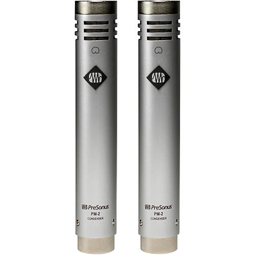 PreSonus PM-2 Matched Stereo Pair of Small-Diaphragm Cardioid Condenser Microphones thumbnail