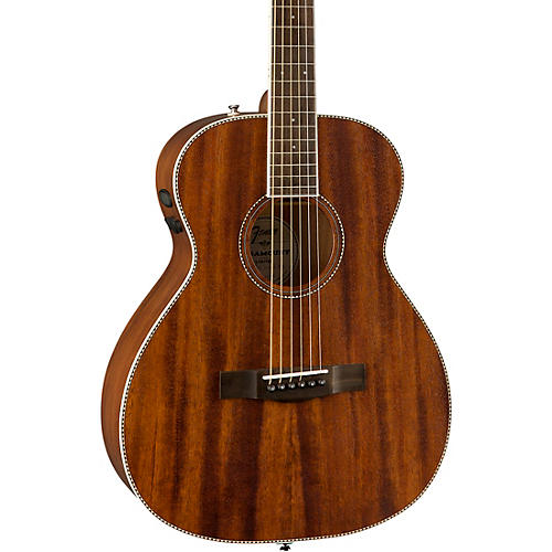 Fender PM-TE Travel All-Mahogany Acoustic-Electric Guitar thumbnail