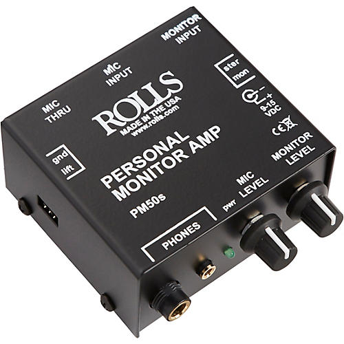 Rolls PM50S Personal Monitor Amp thumbnail