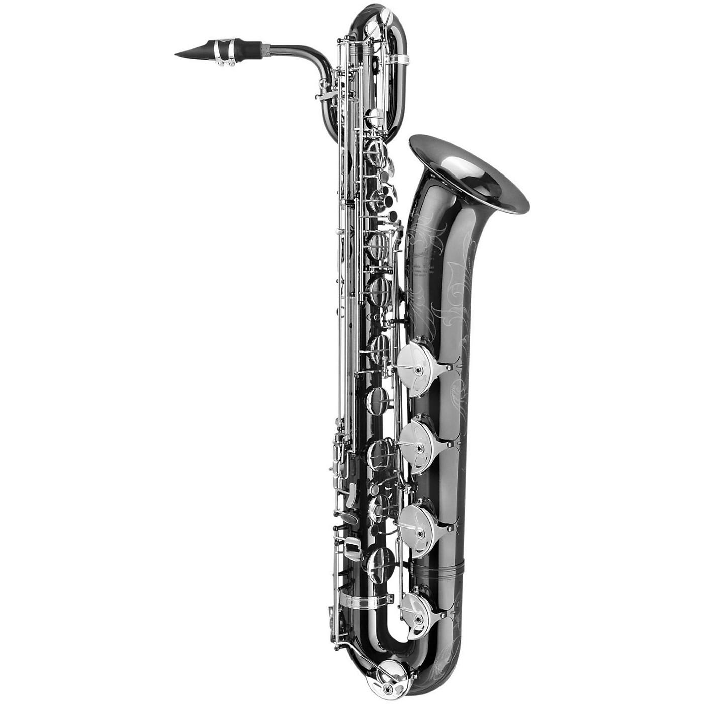 P. Mauriat PMB-500BXSK 'Black Pearl' Professional Baritone Saxophone thumbnail