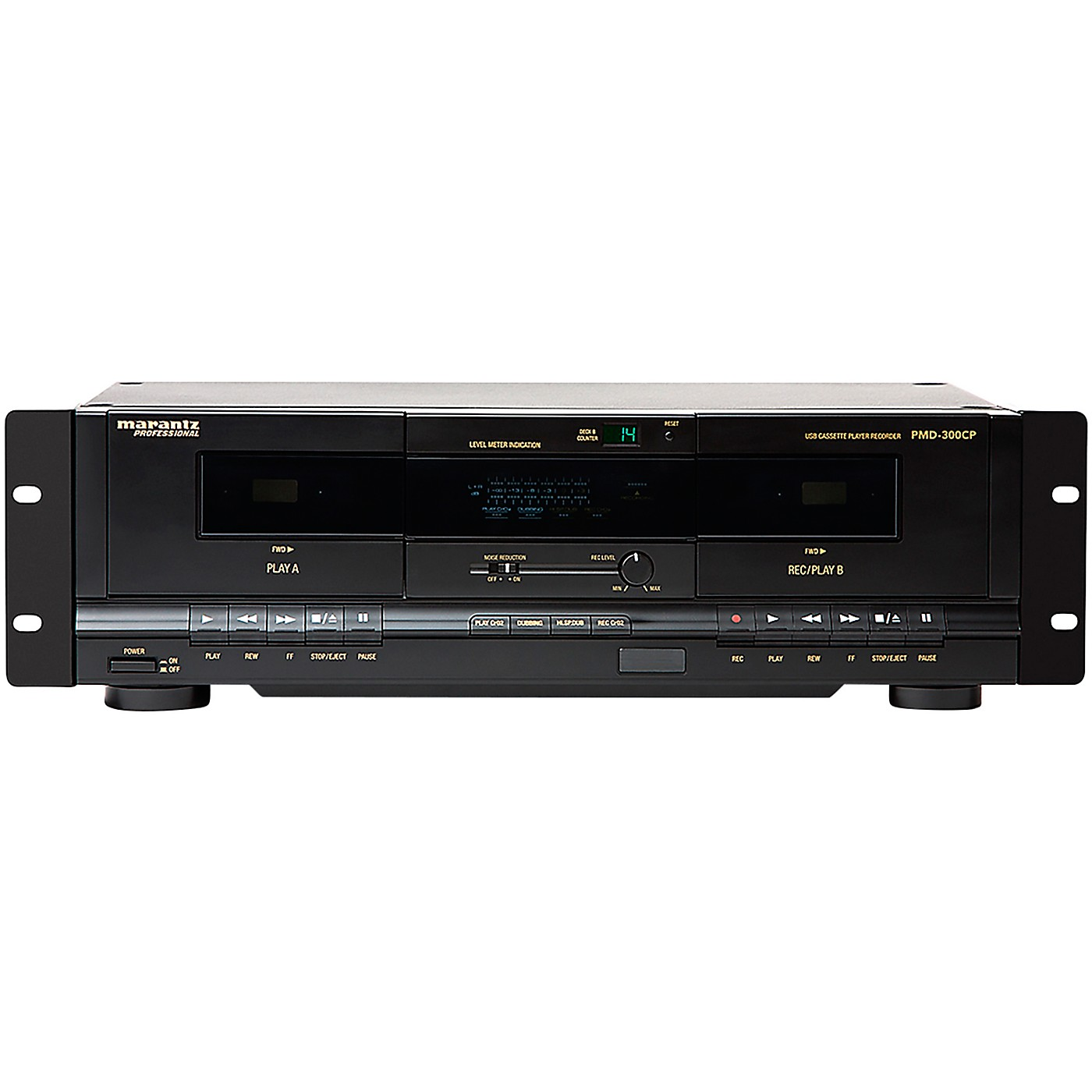 Marantz Professional PMD-300CP Dual Cassette Recorder/Player with USB thumbnail