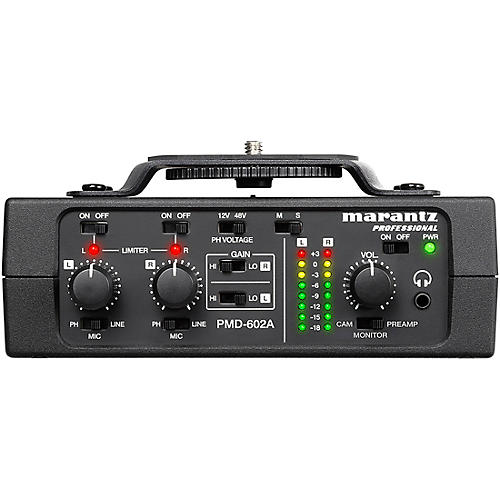 Marantz Professional PMD-602A 2-channel DSLR Audio Interface thumbnail