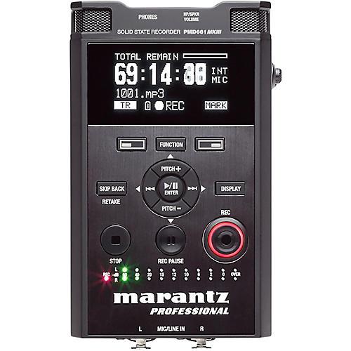 Marantz Professional PMD-661MKIII Handheld Solid-State Recorder thumbnail